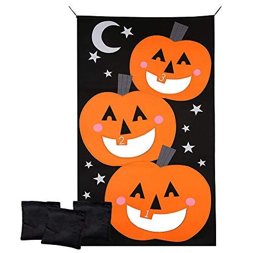 The Twiddlers Juego de Lanzamiento de Pelota Hacky Sack de Halloween - Set de 3 Pelotas Rellenas - Juego Ideal para Adultos y Niños - Halloween Fiesta, Navidad, Cumpleaños Actividades