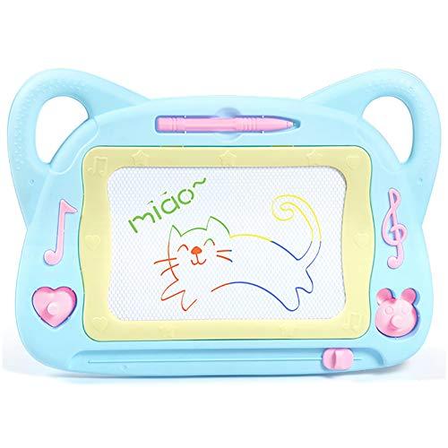 MLYWD Große magische Tafel des wiederbeschreibbaren Brettes, Farbschablone und kreatives Spielzeug, Kinder ab 3 Jahren -