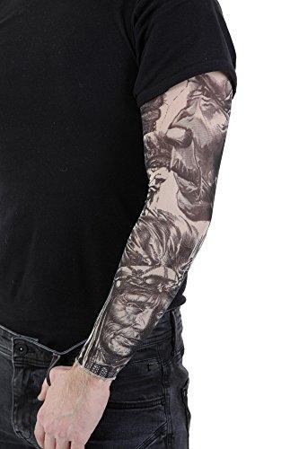 PunkJewelry Fashion Tattoo Ärmel Indianer im 2er Set