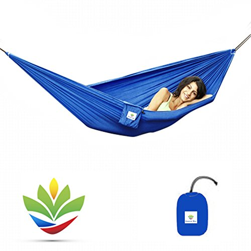 Hammock Bliss Ultralight - Only 13 oz / 380 Grams - Quality You Can Trust - Compact Portable Camping Adventure Hammock - 80