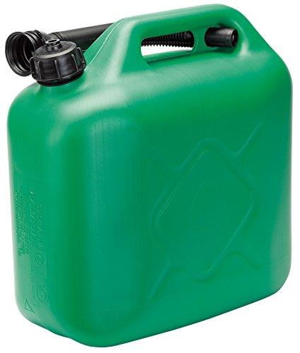 Draper 82694 10l plastic fuel can - green