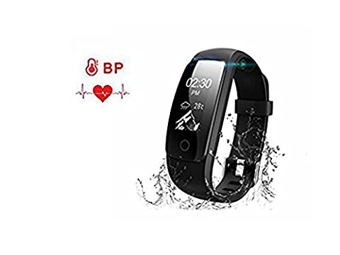 Fitness Tracker, Wireless Bluetooth Smart Wristband Wasserdichtes Armband mit Herzfrequenz-Monitor