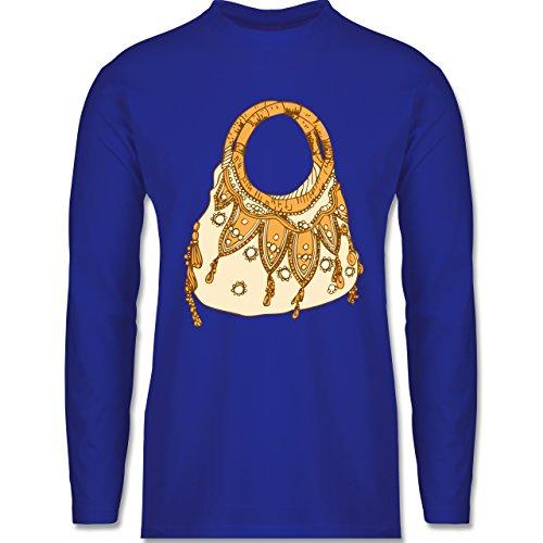 Shirtracer Symbole - Handtasche - Herren Langarmshirt Royalblau
