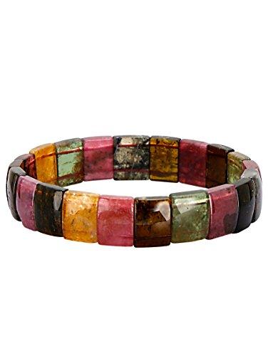 WENZ Damen Turmalin-Armband Mehrfarbig