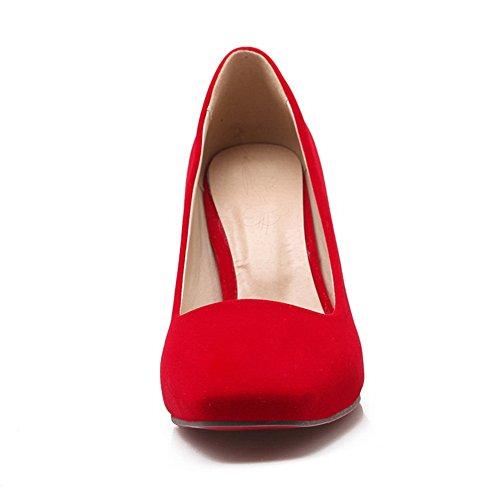 BalaMasaApl10339 - Sandali con Zeppa donna Red