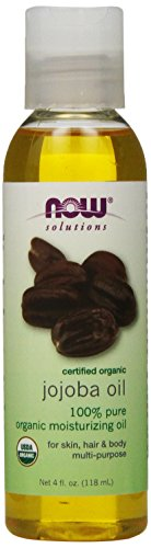 Solutions, Certified Organic, Jojoba Oil, 4 fl oz (118 ml)