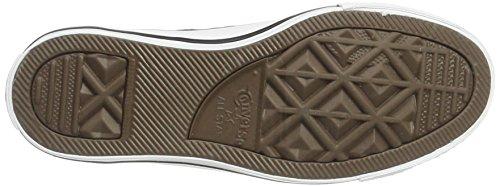 Converse Chuck Taylor Core Lea Ox, Sneaker Unisex adulto Nero (nero)