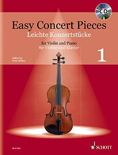 Tango Violin (Easy Concert Pieces: Band 1. Violine und Klavier. Ausgabe mit CD.)