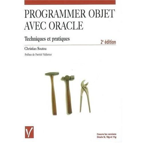 Programmer objet avec Oracle : Techniques et pratiques