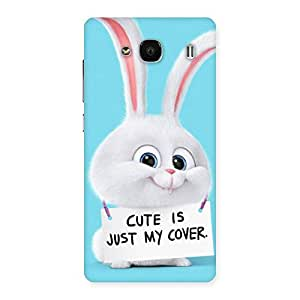 Neo World Just Cute Cover Back Case Cover for Redmi 2s