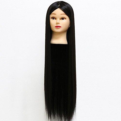 neverland-matte-fiber-haar-30-super-long-hair-friseurtrainingskopf-mit-clamp-skyy-schwarz