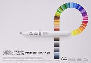 Winsor & Newton Pigment Marker Block A4 75G 50 Blatt