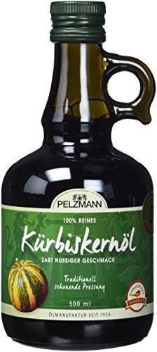 Pelzmann Kürbiskernöl, 1er Pack (1 x 500 ml)