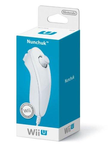 Nintendo Wii / Wii U - Nunchuk, Blanco