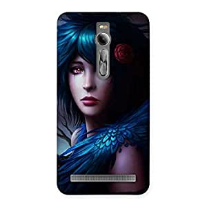 Gorgeous Crossed Angel Multicolor Back Case Cover for Asus Zenfone 2