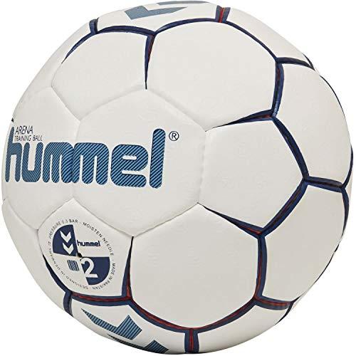 hummel Hmlarena, Ball Unisex Bambini, Bianco/Rosso/Blu, 2