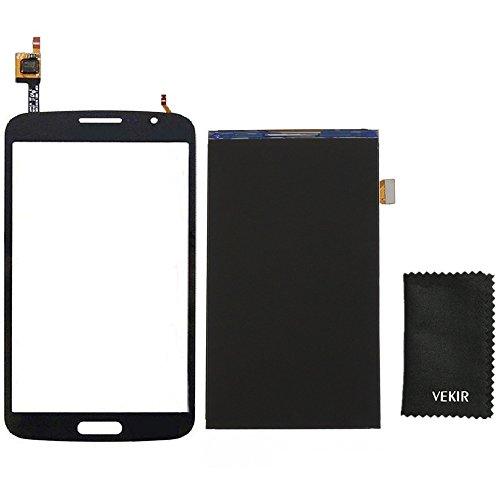 VEKIR LCD-Bildschirm Ersatz + Touch Glas-Screen-Ersatz Kompatibel mit Samsung Galaxy Grand 2 G7102 G7105 G7106 G7108 G7109 (schwarz) Retail Verpackung