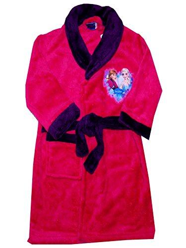 Mädchen Disney Gefrorene Fleece Morgenmantel Robe Alter von 3-8 Jahre (Disney Kleider Eingefroren)