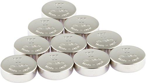 GP Uhrenbatterien 377 Ultra Plus Knopfzellen (Batterie V377 / SR66 / SR626SW) Silber-Oxid (ohne Zusatz von Quecksilber und Eisen),10 Stück im Multi-Sparpack