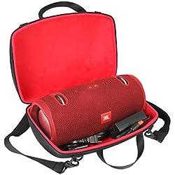 Étui de Voyage Rigide Housse Cas pour JBL Xtreme 2 Enceinte Bluetooth Portable Haut-Parleur par co2CREA (Rouge)
