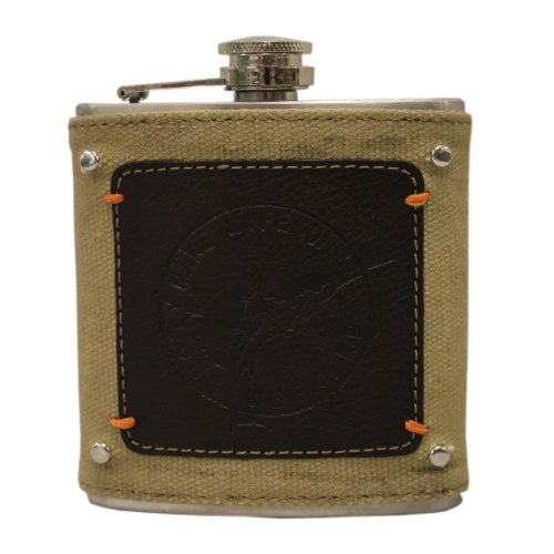 tommy-bahama-6oz-stainless-steel-drinking-flask-khaki-brown-by-tommy-bahama