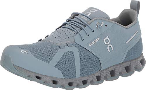 On Running Cloud Waterproof Mens - Cobble Lunar - 44.5 EU