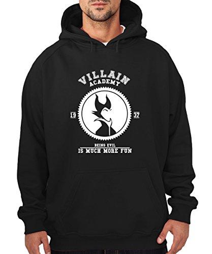 -- Villain Academy -- Boys Kapuzenpullover Schwarz