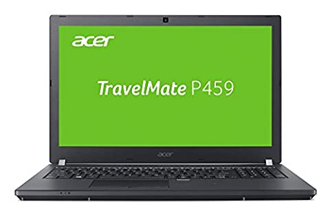 Acer TravelMate P459 (P459-M-74CD) 39,62 cm (15,6 Zoll) Full HD IPS (Intel Core i7-6500U, 8 GB RAM, 256 GB SSD + 1000 GB HDD, Intel Graphics 520, Win 7 Pro + Win 10 Pro) schwarz