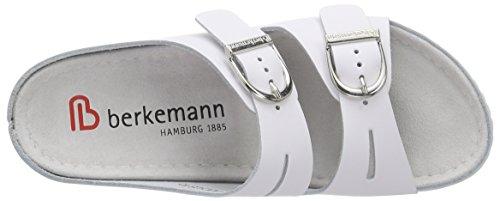 Berkemann Lüneburg, Ciabatte Donna Bianco (Bianco (Bianco 100))