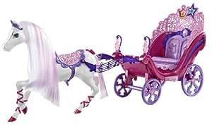Barbie - X4317 - Poupée - Calèche Musicale - Princesse et Popstar