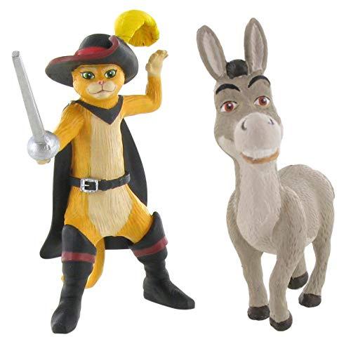 elzeug - Fiona, Shrek, Esel und dem gestiefelten Kater (Puss in Boots / Esel) ()