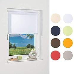 K-home Klemmfix-Minirollo, Weiß Tageslicht 50 x 150 (B x L)