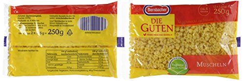 Bernbacher Die Guten 250 g Muscheln, 6er Pack (6 x 250 g)