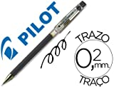 Pilot - Boligrafo punta aguja g-tec-c4 negro (12 unidades)