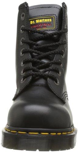 Dr. Martens Original Adult's 7B10 , Chaussures de sécurité mixte adulte - Noir - Noir, 36 EU Noir (Black)