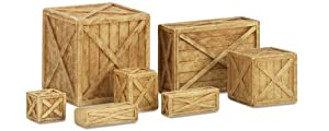 Hornby R8597 Crates 00 Gauge Skaledale Wagon Loads