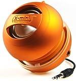 X-Mi X Mini II Capsule-Lautsprecher der 2. Generation für iPhone / iPad 2/3 / iPod / MP3 / Laptop - Orange