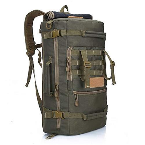 WXQQ SportRucksack Damen Herren Studenten Backpack für Notebook Lässiger Daypacks Schüler Bag für WandernGreen