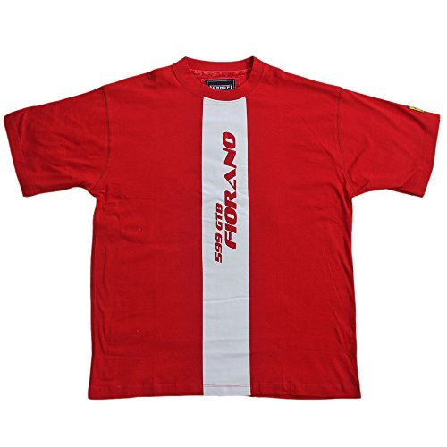 Ferrari Men 599 GTB S/S Herren T-Shirt Scuderia Ferrari Formel 1 Team Tee F1 Rot Hemd Top Cotton -