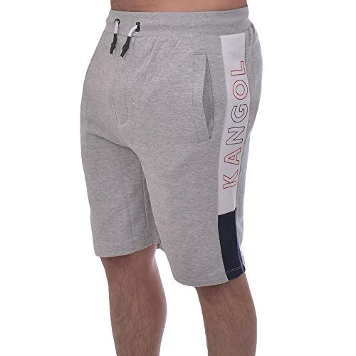 Kangol Herren Perry Sweat Shorts - grau - Small