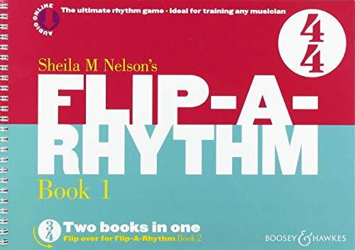 Flip-a-rhythm: Das optimale Rhythmus-Spiel - ein ideales Training für jeden Musiker!. Vol. 1+2. -