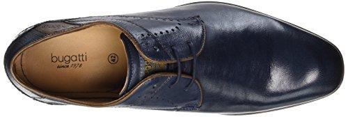 bugatti 4100 dark Blau Herren Derby 311101103000 Blau Derby dark bugatti 311101103000 blue Herren r7qwvrZn