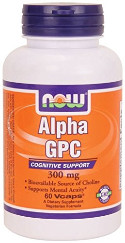 Now Foods Alpha GPC - 60 vcaps Supports Mental Acuity Test