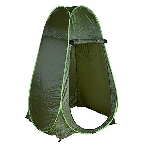 Cocoarm Duschzelt Umkleidezelt Camping Duschzelt Toilettenzelt Beistellzelt Lagerzelt Wasserfest Tragbar Outdoor Zelt