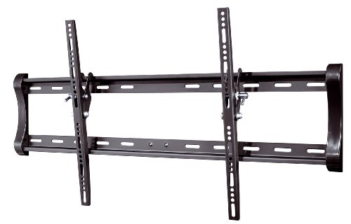 Vivanco WT 8065 feste Wandhalterung für Bildschirmdiagonale 139cm bis 203 cm (55-80 Zoll) (VESA 800x400, 65kg, +/- 12 Grad Neigungswinkel) schwarz