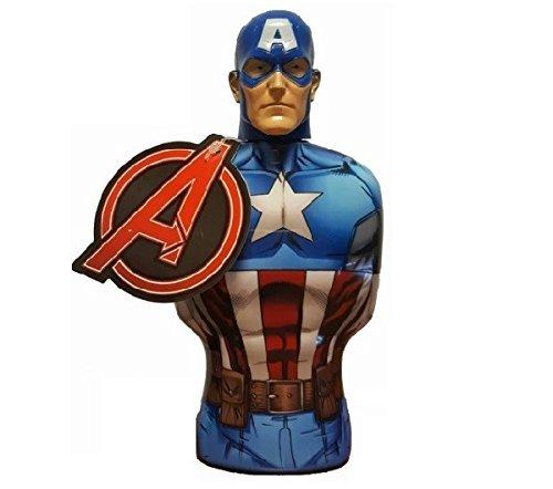 Avengers - Marvel Captain America Shower Gel, 1er Pack (1 x 385 ml)