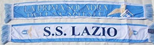 Bufanda S.S. LAZIO oficial Scarf Bufanda Official ligera de poliéster 100%