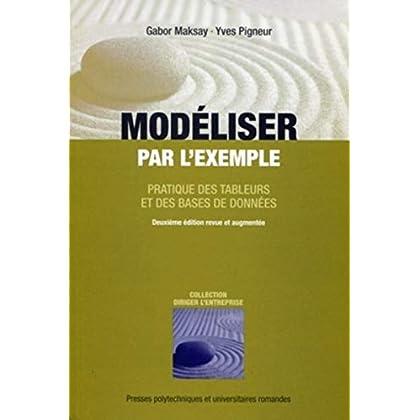 Modéliser par l'exemple: Pratique des tableurs et des bases de données.
