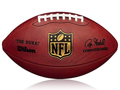 Wilson Football NFL Game Ball The Duke, Braun, Senior, WL0206132041 (Wilson Nfl Offizielle Größe Football)