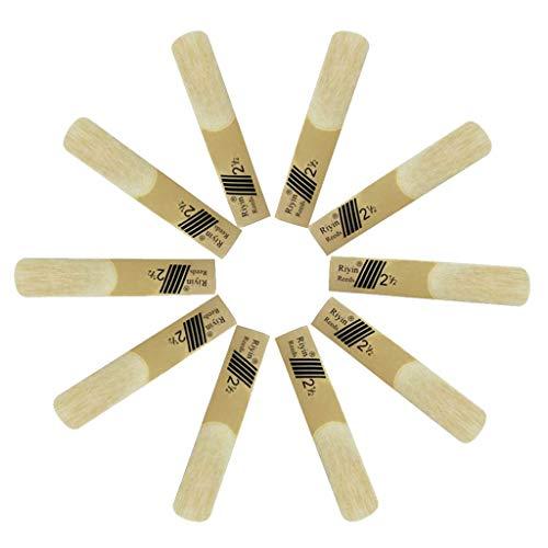 Uteruik Rohrblätter für BB Klarinette, Stärke 2,5, 10 Stück